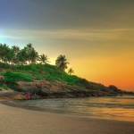 Пляж Ковалам